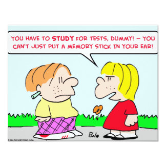 memory stick study tests educations card