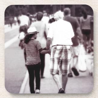 Memory With Grandpa Beverage Coaster
