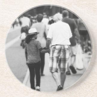 Memory With Grandpa Coaster