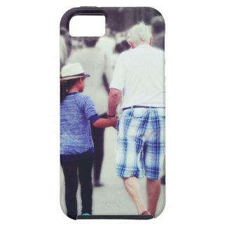 Memory With Grandpa iPhone SE/5/5s Case