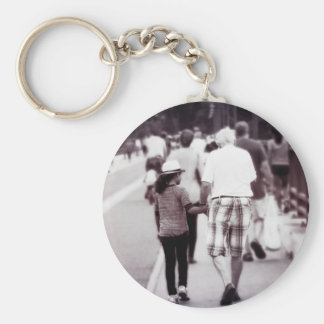 Memory With Grandpa Keychain