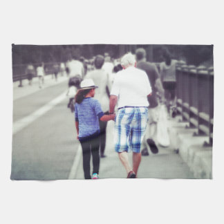 Memory With Grandpa Kitchen Towels
