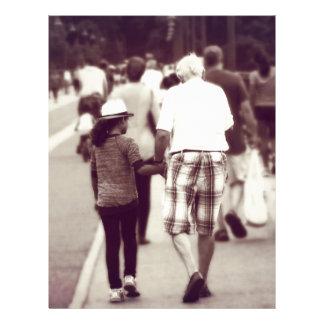 Memory With Grandpa Letterhead