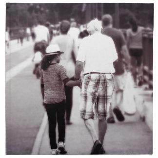 Memory With Grandpa Napkin