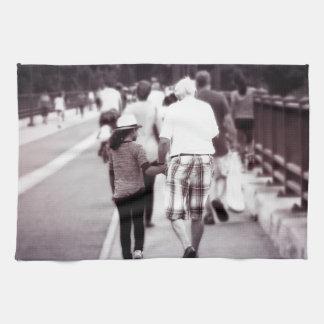 Memory With Grandpa Towels