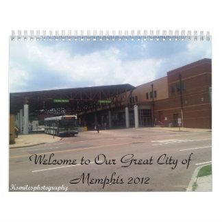 Memphis 2012 Calendar