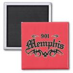 Memphis 901 fridge magnet