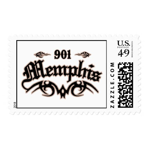 Memphis 901 postage stamps