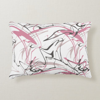 Memphis Abstract Pattern Accent Pillow