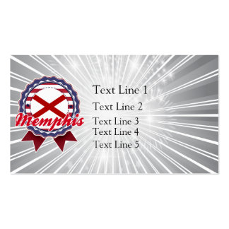 Memphis, AL Double-Sided Standard Business Cards (Pack Of 100)