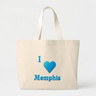 Memphis -- Azul de cielo Bolsa De Mano