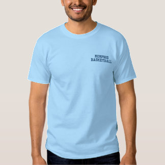 MEMPHIS BASKETBALL EMBROIDERED T-Shirt