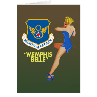 """Memphis Belle"" 8th Air Force Card"