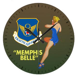"""Memphis Belle"" 8th Air Force Wallclocks"