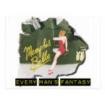 Memphis Belle Pin Up Postcard