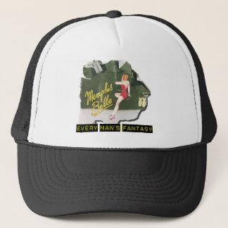 Memphis Belle Pin Up Trucker Hat
