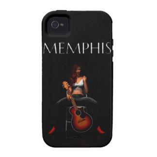 MEMPHIS :: Black Velvet iPhone 4/4S Covers