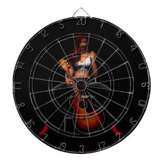 'MEMPHIS::Black Velvet' dartboard