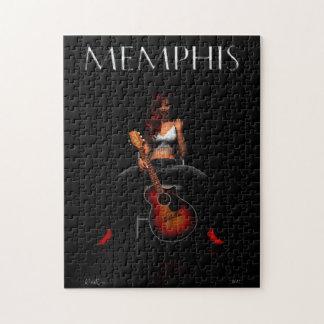 MEMPHIS :: Black Velvet Jigsaw Puzzle