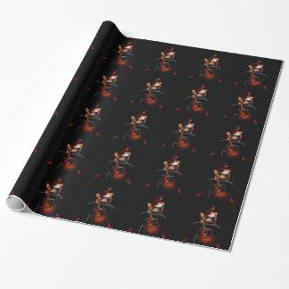 MEMPHIS :: Black Velvet Wrapping Paper