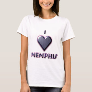 Memphis -- Blue with glow T-Shirt