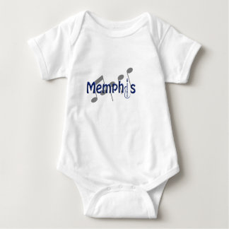 memphis blue with music notes t shirt