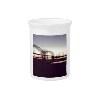 Memphis Bridge Beverage Pitcher