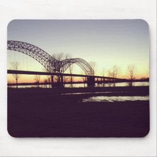 Memphis Bridge Mouse Pad