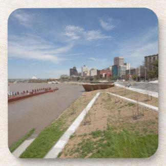 Memphis City Skyline Drink Coaster