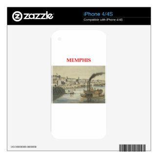 memphis decal for iPhone 4S