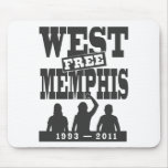 Memphis del oeste tres tapetes de raton