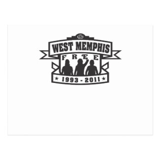 Memphis del oeste tres tarjeta postal