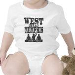 Memphis del oeste tres trajes de bebé