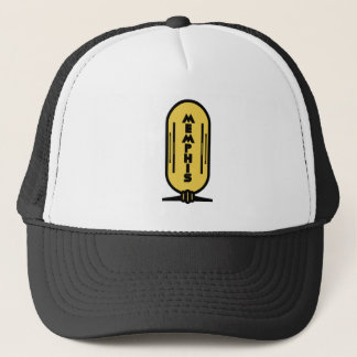 Memphis - Egyptian cartouche style Hat. Trucker Hat