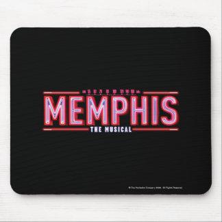 MEMPHIS - el logotipo musical Alfombrilla De Ratones