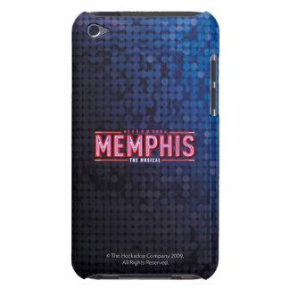 MEMPHIS - el logotipo musical Barely There iPod Carcasa