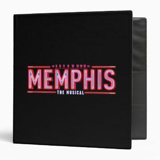 "MEMPHIS - el logotipo musical Carpeta 1 1/2"""