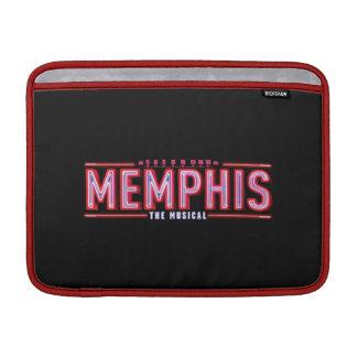 MEMPHIS - el logotipo musical Fundas MacBook