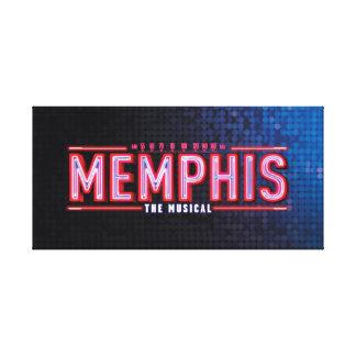 MEMPHIS - el logotipo musical Impresion De Lienzo