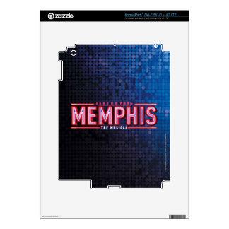 MEMPHIS - el logotipo musical iPad 3 Skins