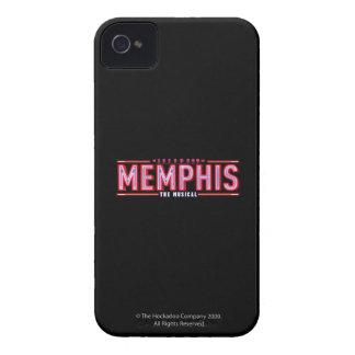MEMPHIS - el logotipo musical iPhone 4 Case-Mate Funda