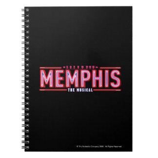 MEMPHIS - el logotipo musical Libretas