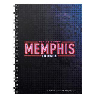 MEMPHIS - el logotipo musical Libros De Apuntes