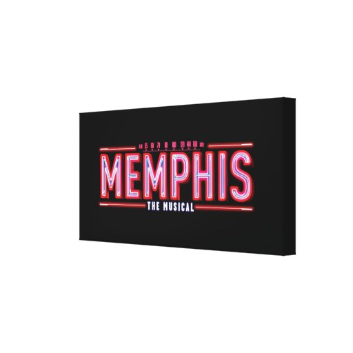 MEMPHIS - el logotipo musical Impresiones De Lienzo
