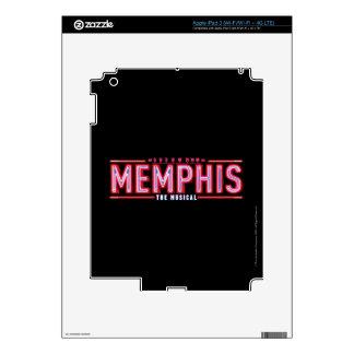 MEMPHIS - el logotipo musical Pegatina Skin Para iPad 3