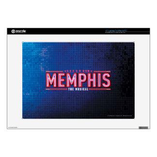 MEMPHIS - el logotipo musical Portátil Calcomanías