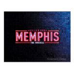 MEMPHIS - el logotipo musical Postal
