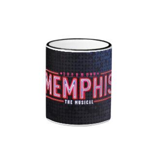 MEMPHIS - el logotipo musical Taza A Dos Colores
