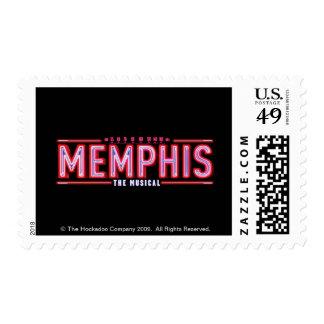 MEMPHIS - el logotipo musical Timbres Postales