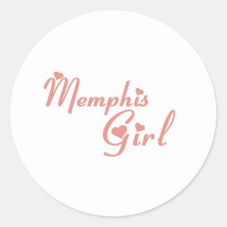 Memphis Girl tee shirts Stickers